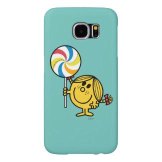 Little Miss Sunshine   Giant Lollipop Samsung Galaxy S6 Cases