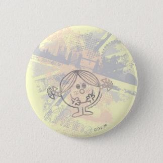 Little Miss Sunshine | Hello Sunshine 2 Inch Round Button