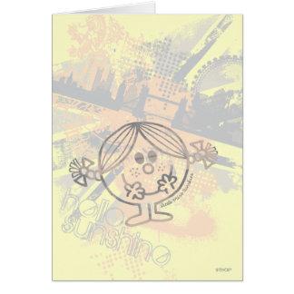 Little Miss Sunshine | Hello Sunshine Greeting Card