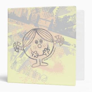 Little Miss Sunshine | Hello Sunshine Vinyl Binders