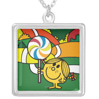 Little Miss Sunshine | Hills & Lollypop Silver Plated Necklace