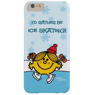 Little Miss Sunshine Ice Skating Barely There iPhone 6 Plus Case