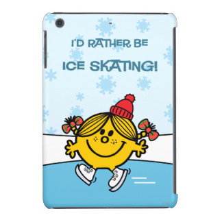 Little Miss Sunshine Ice Skating iPad Mini Cover