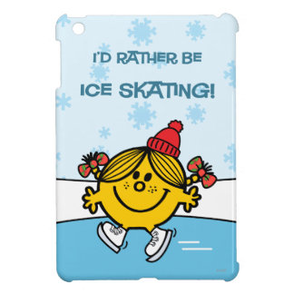 Little Miss Sunshine Ice Skating iPad Mini Covers
