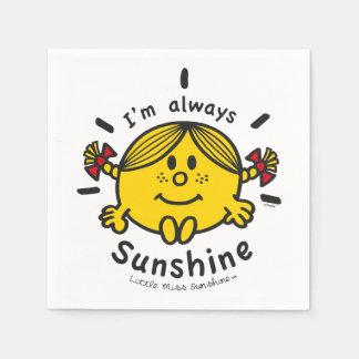Little Miss Sunshine | I'm Always Sunshine Disposable Napkins
