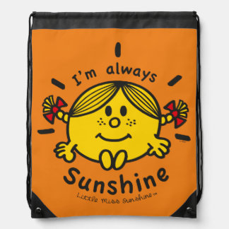 Little Miss Sunshine | I'm Always Sunshine Drawstring Bag