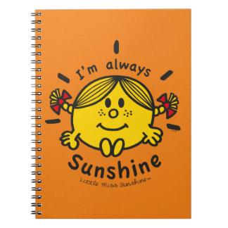 Little Miss Sunshine | I'm Always Sunshine Notebook