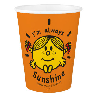 Little Miss Sunshine | I'm Always Sunshine Paper Cup