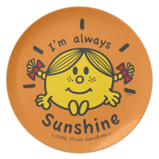 Little Miss Sunshine | I'm Always Sunshine Plate