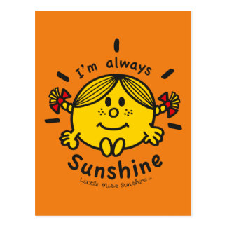 Little Miss Sunshine | I'm Always Sunshine Postcard