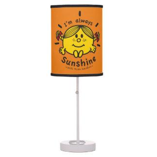 Little Miss Sunshine | I'm Always Sunshine Table Lamp