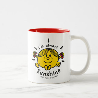 Little Miss Sunshine | I'm Always Sunshine Two-Tone Coffee Mug