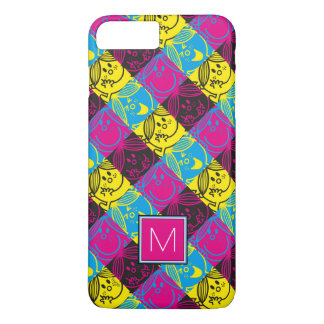 Little Miss Sunshine | Neon Pattern | Monogram iPhone 7 Plus Case