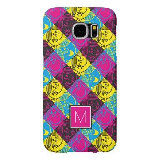 Little Miss Sunshine | Neon Pattern | Monogram Samsung Galaxy S6 Case