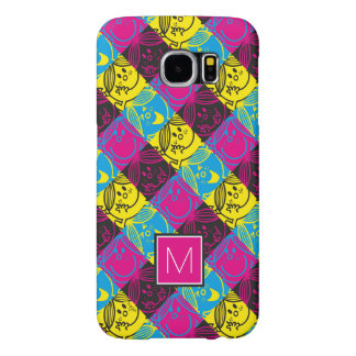 Little Miss Sunshine | Neon Pattern | Monogram Samsung Galaxy S6 Cases