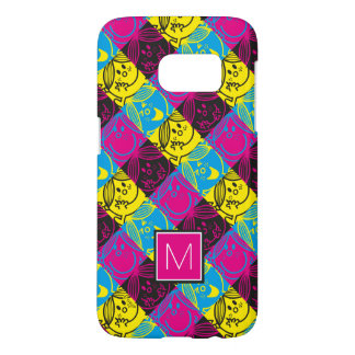 Little Miss Sunshine | Neon Pattern | Monogram Samsung Galaxy S7 Case