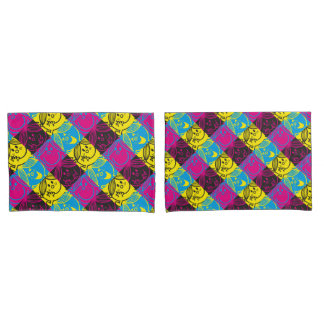Little Miss Sunshine | Neon Pattern Pillowcase