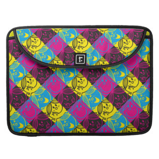 Little Miss Sunshine | Neon Pattern Sleeve For MacBook Pro