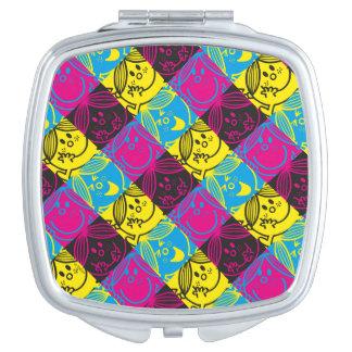 Little Miss Sunshine | Neon Pattern Vanity Mirror