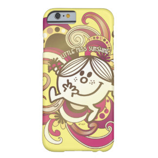 Little Miss Sunshine | Pink Swirls Barely There iPhone 6 Case