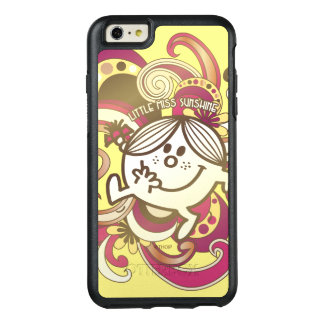 Little Miss Sunshine | Pink Swirls OtterBox iPhone 6/6s Plus Case