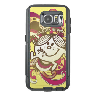 Little Miss Sunshine   Pink Swirls OtterBox Samsung Galaxy S6 Case