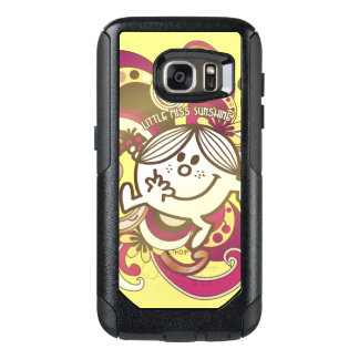 Little Miss Sunshine | Pink Swirls OtterBox Samsung Galaxy S7 Case