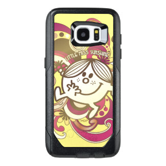 Little Miss Sunshine | Pink Swirls OtterBox Samsung Galaxy S7 Edge Case