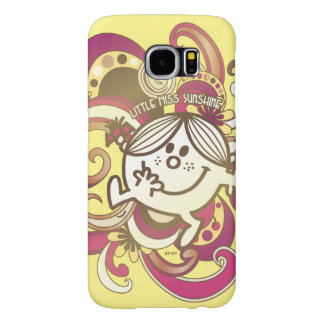 Little Miss Sunshine | Pink Swirls Samsung Galaxy S6 Cases