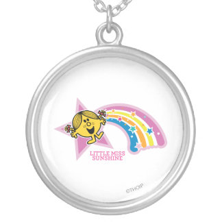 Little Miss Sunshine | Rainbows & Stars Silver Plated Necklace