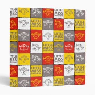 Little Miss Sunshine | Red & Yellow Pattern Binder