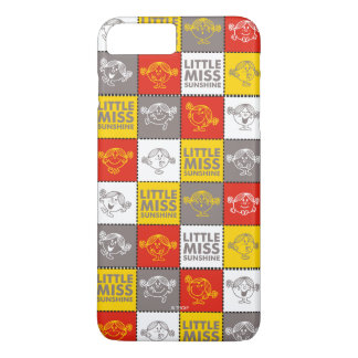 Little Miss Sunshine | Red & Yellow Pattern iPhone 7 Plus Case