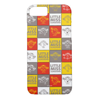 Little Miss Sunshine   Red & Yellow Pattern iPhone 8/7 Case