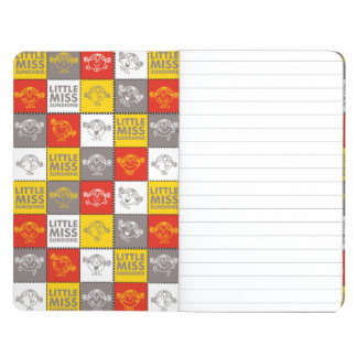 Little Miss Sunshine | Red & Yellow Pattern Journal
