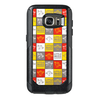 Little Miss Sunshine | Red & Yellow Pattern OtterBox Samsung Galaxy S7 Case