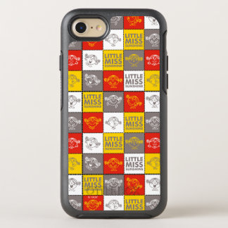 Little Miss Sunshine   Red & Yellow Pattern OtterBox Symmetry iPhone 7 Case