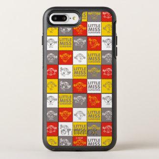 Little Miss Sunshine   Red & Yellow Pattern OtterBox Symmetry iPhone 8 Plus/7 Plus Case