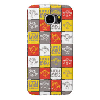 Little Miss Sunshine | Red & Yellow Pattern Samsung Galaxy S6 Case