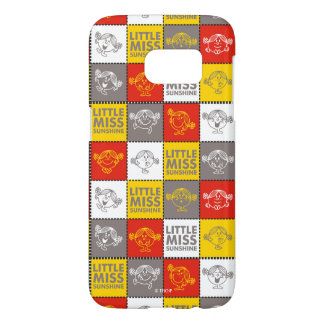 Little Miss Sunshine | Red & Yellow Pattern Samsung Galaxy S7 Case
