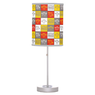 Little Miss Sunshine | Red & Yellow Pattern Table Lamp