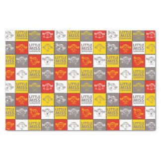 Little Miss Sunshine | Red & Yellow Pattern Tissue Paper