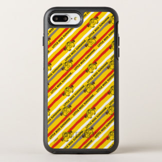 Little Miss Sunshine | Red, Yellow Stripes Pattern OtterBox Symmetry iPhone 8 Plus/7 Plus Case