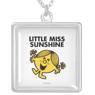 Little Miss Sunshine Silver Plated Necklace