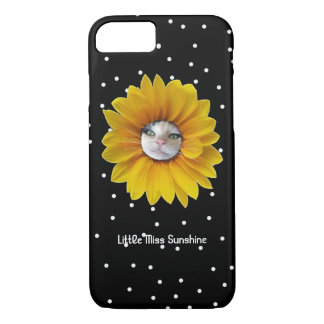 Little Miss Sunshine Smiling Cat iPhone 7 Case