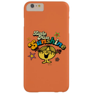 Little Miss Sunshine | Stars & Flowers Barely There iPhone 6 Plus Case