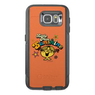 Little Miss Sunshine   Stars & Flowers OtterBox Samsung Galaxy S6 Case