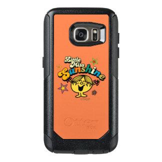 Little Miss Sunshine   Stars & Flowers OtterBox Samsung Galaxy S7 Case