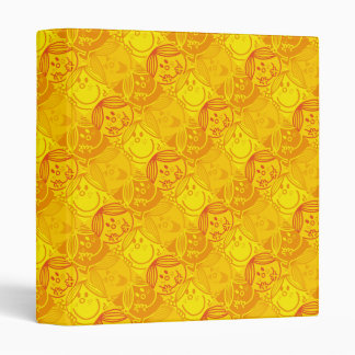 Little Miss Sunshine | Sunny Yellow Pattern 3 Ring Binders