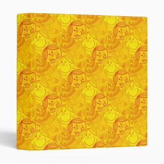 Little Miss Sunshine | Sunny Yellow Pattern Binder