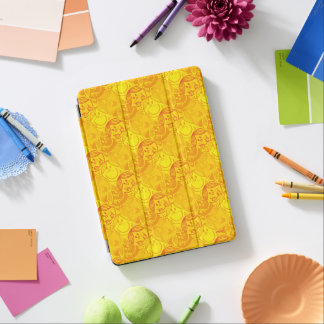 Little Miss Sunshine | Sunny Yellow Pattern iPad Air Cover